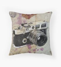 the rangefinder Throw Pillow