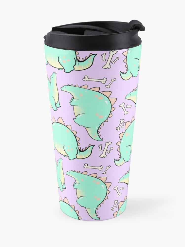 Alternate view of Blep-o-saurus  Travel Mug