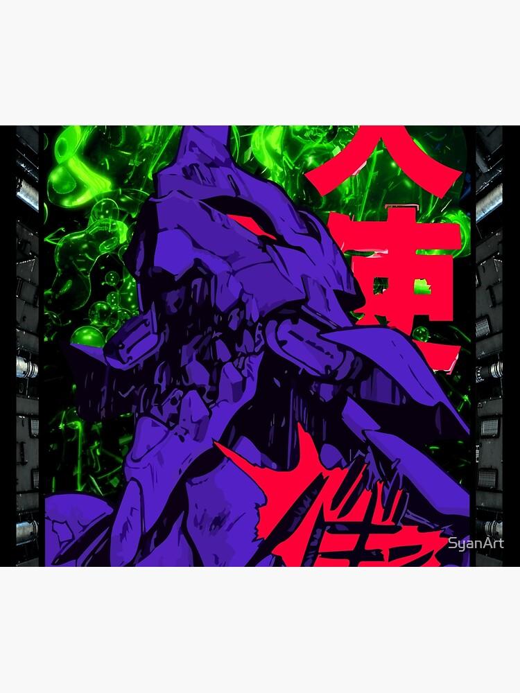 Neon Cyber Genesis Nerv Evangelion by SyanArt