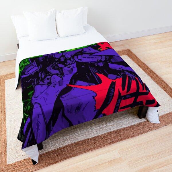 Neon Cyber Genesis Nerv Evangelion Comforter