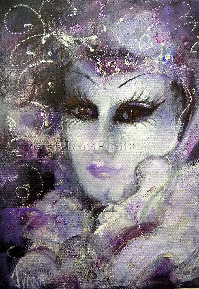 In the purple by Ivana Pinaffo