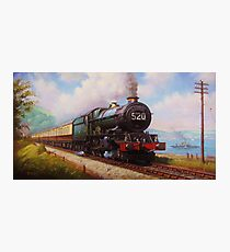 The Torbay Express Photographic Print