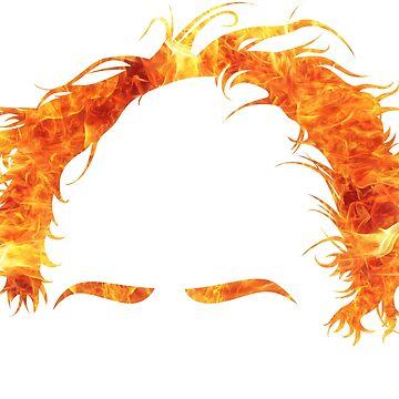 Camisa flameante de Bernie - #Feelthebern de AndrewHart