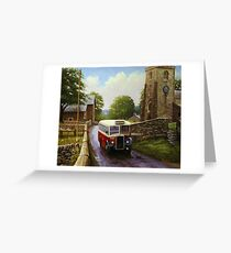 Leyland Tiger Greeting Card