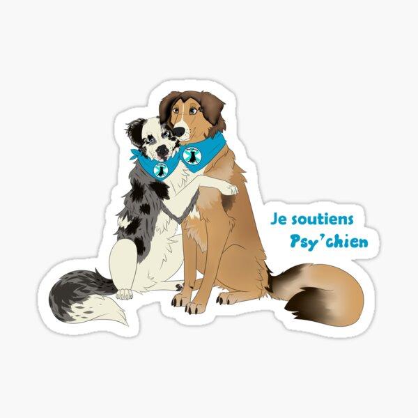 Psy'chien Câlin Sticker