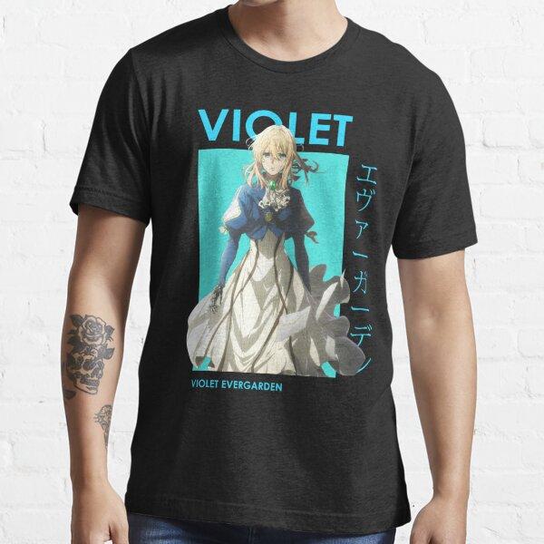 Violet Evergarden Anime T-shirt essentiel