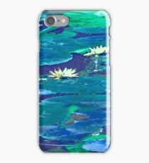 Water Lilies #1e iPhone Case/Skin