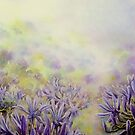 Agapanthus,a study in Blue & Lavenders ! by LorusMaver