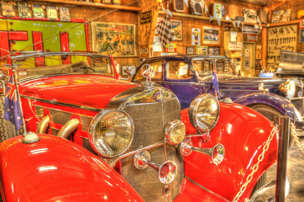 Car museum shot by photojunk