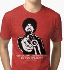 "ProgMofo, ""Optimized"" Edition Tri-blend T-Shirt"