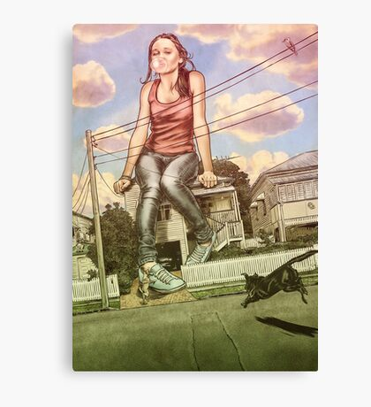 Too Big For This Town Canvas Print