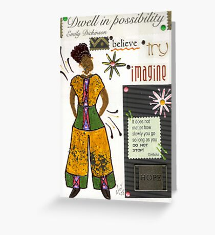 Dwell in Possibility Greeting Card