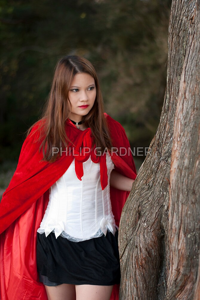 Red riding hood 2 by PHILIP GARDNER