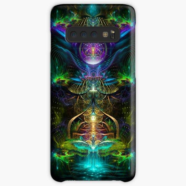Neon1 Visionary fractal art Samsung Galaxy Snap Case