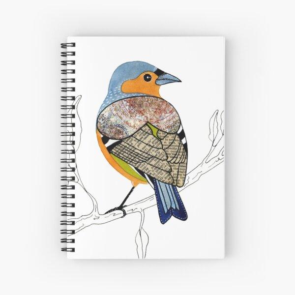 Chaffinch - little garden bird Spiral Notebook