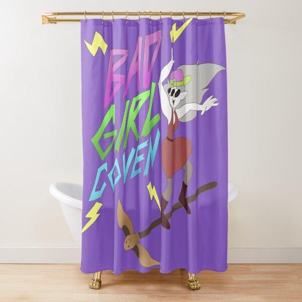Bad Girl Coven (violet) Rideau de douche
