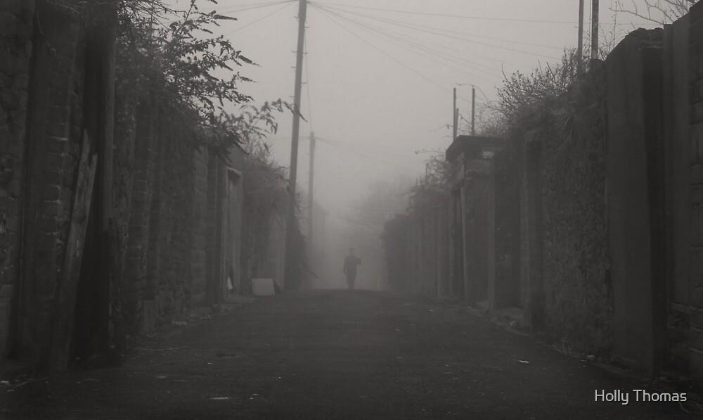 Walking through the fog by HollyRuthven