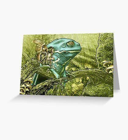 My Big Blue Buddy Greeting Card