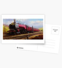 Stanier pacific on Shap Postcards
