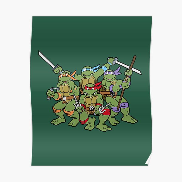 Classic Turtles Poster