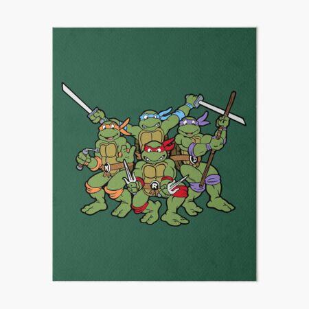 Classic Turtles Art Board Print