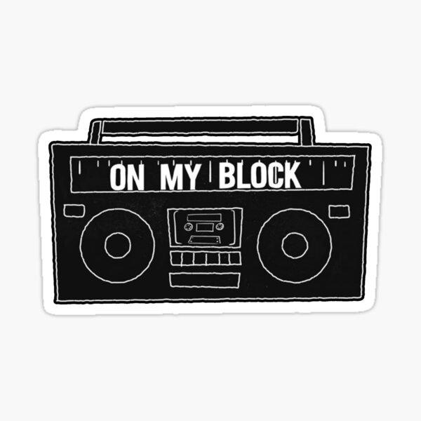 On My Block Boombox Sticker