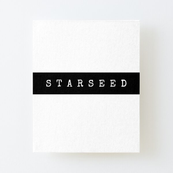 Starseed Canvas Mounted Print