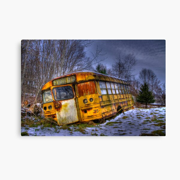 School Bus 23 Canvas Print