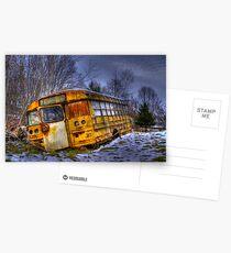 School Bus 23 Postcards