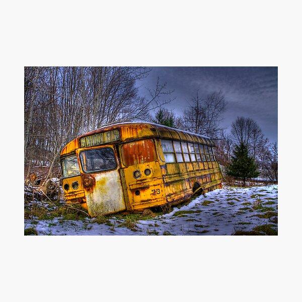 School Bus 23 Photographic Print