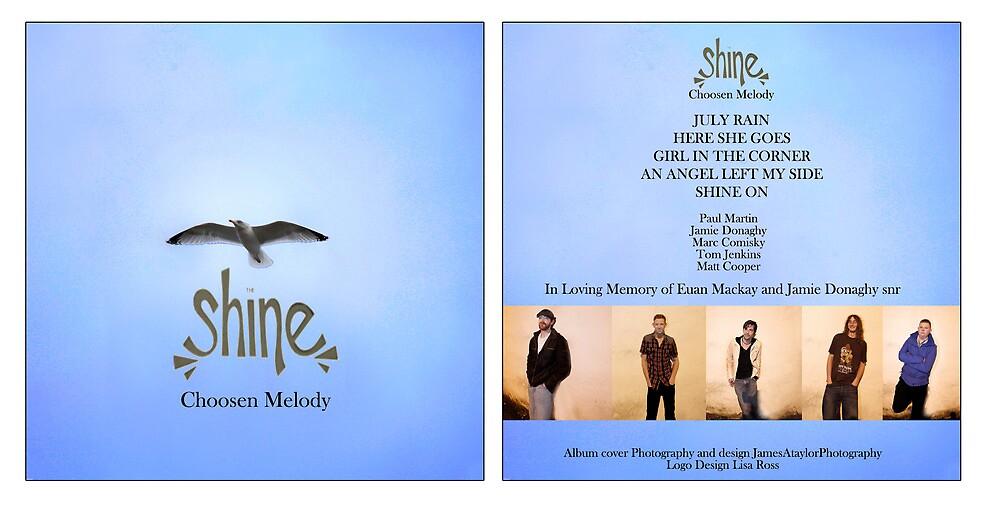The Shines EP/CD artwork by jamesataylor