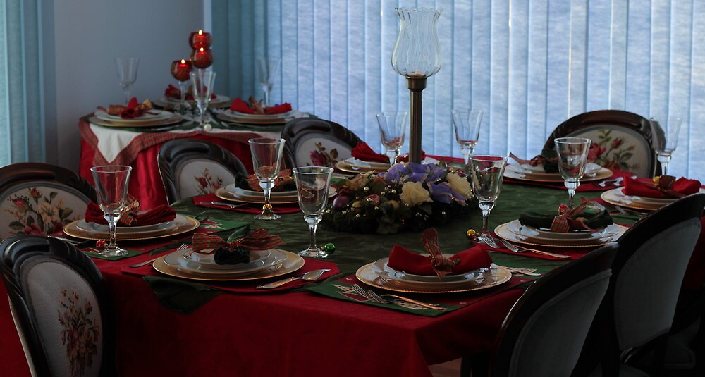 Christmas Diningroom Table by FrankSchmidt
