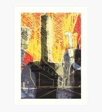 Industrial location Art Print