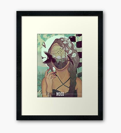MOOD Framed Print
