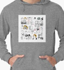 Meme Collaboration Shirt Lightweight Hoodie