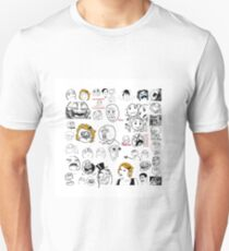 Meme Collaboration Shirt Unisex T-Shirt