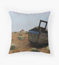 Shipwrecked, Dungeness, Kent Throw Pillow