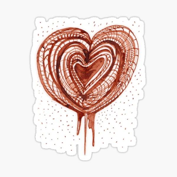 Muscular Pump (heart) drawing Sticker