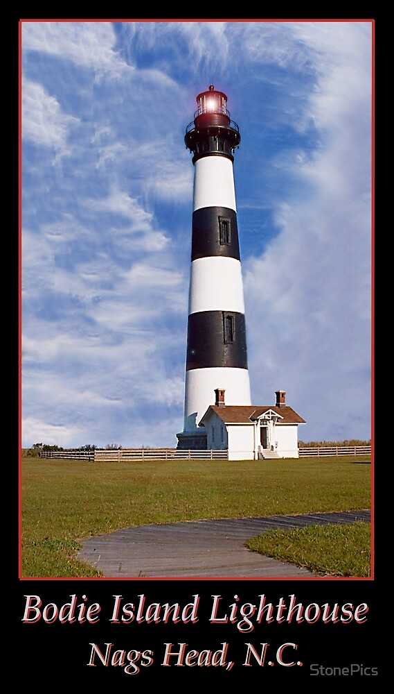 Bodie Island Lighthouse by StonePics