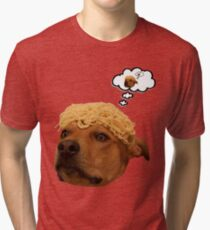 Spaghetti is Dog Tri-blend T-Shirt