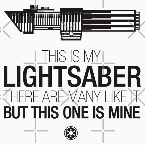 TShirtGifter presents: This is my lightsaber
