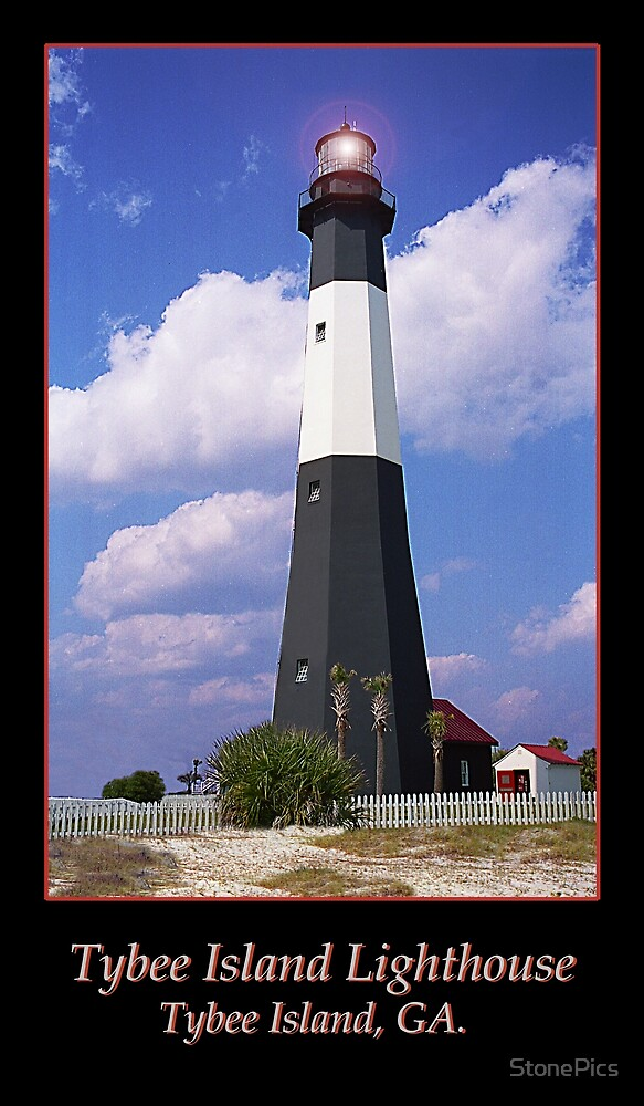 Tybee Island Lighthouse by StonePics