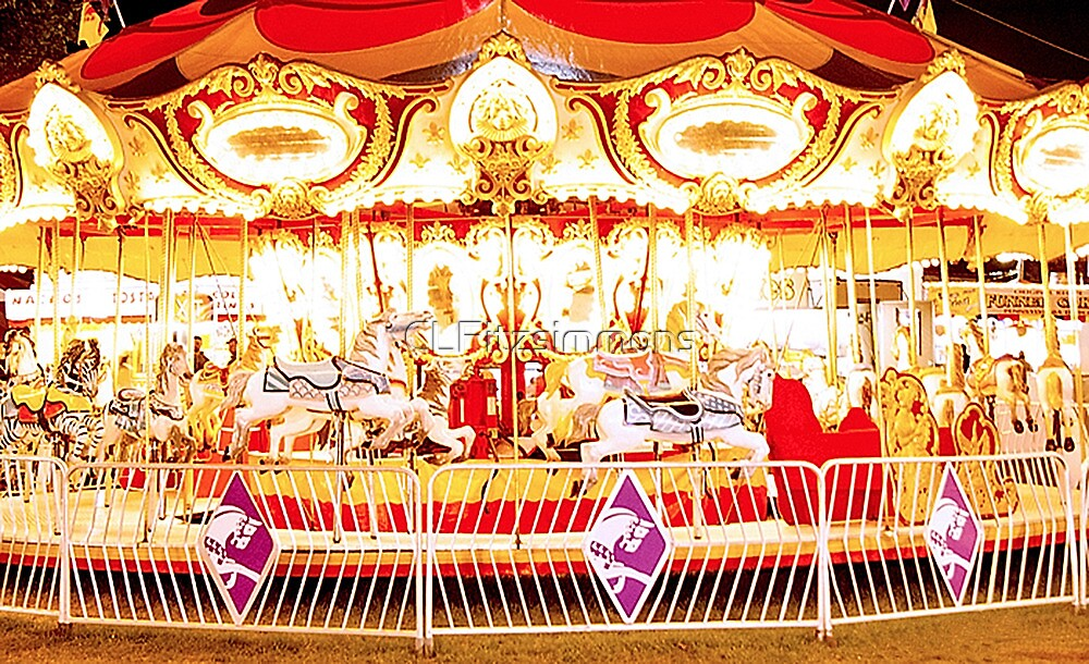 Carousel at Night by CLFitzsimmons