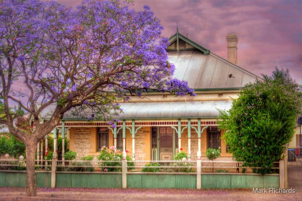 Jacaranda - McHenry Street, Murray Bridge, South Australia by Mark Richards