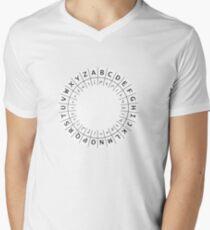 The One (Decoder) Ring Mens V-Neck T-Shirt
