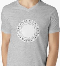 The One (Decoder) Ring Mens V-Neck T-Shirt
