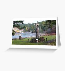 Rosario Beach at Deception Pass in Skagit County Greeting Card