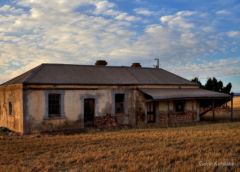 Burra Abandoned House by Gavin Kerslake