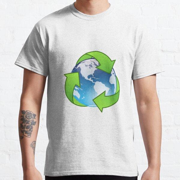 Logotipo de H2O para hombre Camiseta Agua Tierra Planeta Paz guardar los océanos mares Mundo Amor