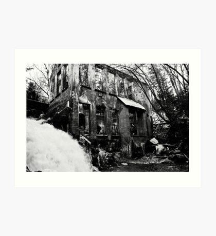 Wilson Carbide Ruins Art Print